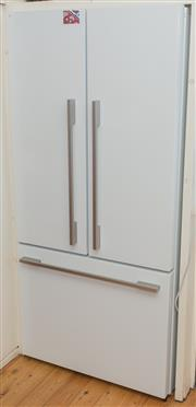 Sale 8380A - Lot 29 - Active Smart Technology French door, near new Fisher and Paykel fridge, H 171 x W 79 x D 86cm