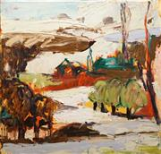 Sale 8633 - Lot 512 - Craig Waddell (1973 - ) - Orchard View, 2005 100 x 101cm
