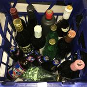 Sale 8659 - Lot 2170 - Crate of Assorted Alcohol