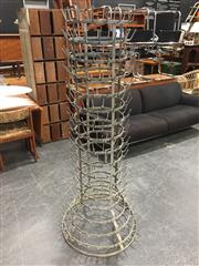 Sale 8971 - Lot 1015 - Large French Metal Bottle Dryer (H:173 x D:60cm)