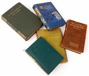 Sale 9048A - Lot 88 - Five early C20th hardback books including