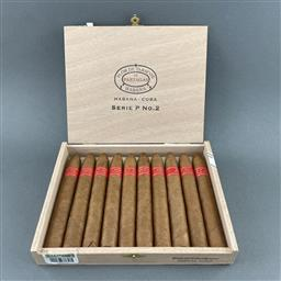 Sale 9120W - Lot 1486 - Partagas 'Serie P No.2' Cuban Cigars - box of 10 cigars, dated July 2019