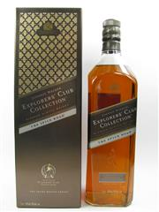 Sale 8225 - Lot 1760 - 1x Johnnie Walker The Explorers Club Collection - The Spice Road Blended Scotch Whisky - 1000ml in box