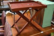 Sale 8465 - Lot 1670 - Buttlers tray on Stand