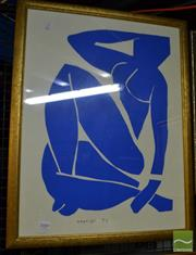 Sale 8471 - Lot 2080 - Framed Henry Matisse Print