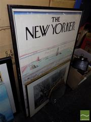 Sale 8474 - Lot 2093 - New York Poster, Print & Deco Mirror