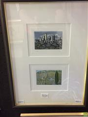 Sale 8648B - Lot 2036 - Artist Unknown - Southern Italian Scenes, hand-coloured etchings,