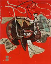 Sale 8858 - Lot 543 - Maurice Cockrill (1935 - 2013) - Anamnesis #2 120 x 100 cm
