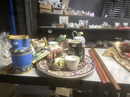 Sale 9101 - Lot 2382 - Collection of ceramics inc Italian, Pates, Beswick (broken tail) and others