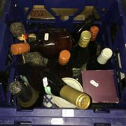 Sale 8659 - Lot 2166 - Crate of Assorted Alcohol