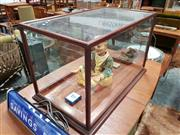 Sale 8741 - Lot 1079 - Timber and Glass Display Case