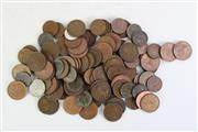 Sale 8890T - Lot 41 - A Collection of Various Coins Mostly Pennies and Half Pennies