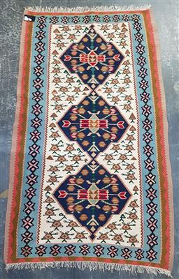 Sale 9126 - Lot 1272 - Hand woven Persian pictorial Kilim