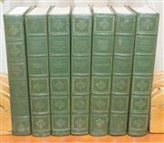 Sale 8341A - Lot 75 - The Complete Works of Charles Dickens, over 16 volumes in antique green leather binding