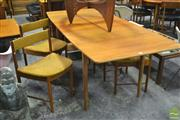 Sale 8364 - Lot 1050 - McIntosh Extending Table and Set of Six Chairs