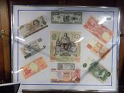 Sale 8417T - Lot 2071 - Various International Bank Notes (framed)