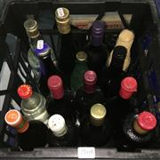Sale 8659 - Lot 2168 - Crate of Assorted Alcohol