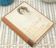 Sale 9066H - Lot 24 - A first edition book entitled A Dream of Fair Women with illustrations by Harrison Fisher, 1907.