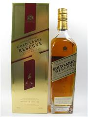Sale 8225 - Lot 1757 - 1x Johnnie Walker Gold Label Master Blenders Reserve Scotch Whisky - 750ml in box