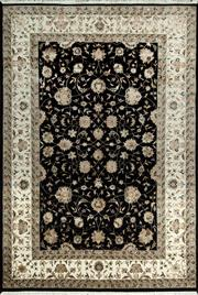 Sale 8345C - Lot 85 - Jaipor Silk & Wool 165cm x 240cm