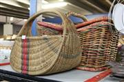 Sale 8346 - Lot 2398 - Wicker Picnic Basket & Another
