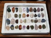 Sale 8843 - Lot 1034 - Tray of Polished Samples