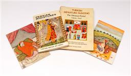 Sale 9110 - Lot 381 - Two Paperback books of Ancient Miniatures together with some Postcards