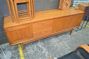 Sale 8115 - Lot 1088 - 1960s Teak Sideboard