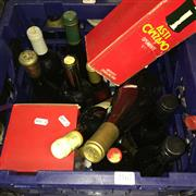Sale 8659 - Lot 2167 - Crate of Assorted Alcohol