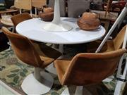Sale 8760 - Lot 1083 - Robin Day Seven Piece Dining Suite inc Table and Six Chairs