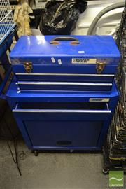 Sale 8537 - Lot 2186 - Two Metal Tool Chests on Castors