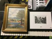 Sale 8648B - Lot 2081 - (2 works) Betty Fuller Playing on the Lake
