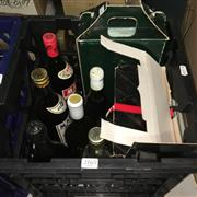 Sale 8659 - Lot 2165 - Crate of Assorted Alcohol