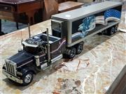 Sale 8817C - Lot 525 - Franklin Mint Peterbilt Model 379 with Trailer Scale Replica in Original Box
