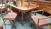 Sale 8383 - Lot 1022 - Quality McIntosh Table and Six Chairs incl. Pair of Carvers
