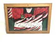 Sale 8733 - Lot 54 - Framed Rugby League North Sydney Bears Jersey