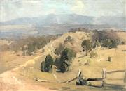 Sale 9016A - Lot 5020 - William Beckwith McInnes (1889 - 1939) - View toward the Dandenongs, 1919 46 x 60 cm