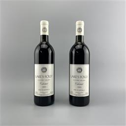 Sale 9129W - Lot 640 - 2x 1993 Lakes Folly Cabernet, Hunter Valley - high shoulder