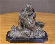 Sale 7379B - Lot 90 - The Lovers, bronze after Rodin