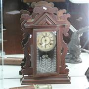Sale 8336 - Lot 74 - Cottage Mantle Clock