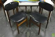 Sale 8364 - Lot 1006 - Set of Six Parker Dining Chairs