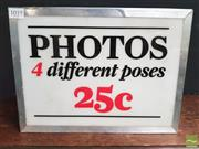 Sale 8447 - Lot 1019 - Photo Light Box
