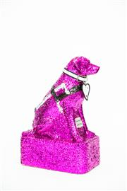 Sale 8479G - Lot 50 - Sydney Gay and Lesbian Mardi Gras - Queenie. Queenie is our wonderful, loyal and smart Guide Dog and shes all glittered up to att...
