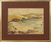 Sale 8753 - Lot 2055 - Edward William Cooke - Otehei Bay, Bay of Islands NZ 26 x 36cm