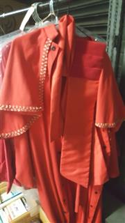 Sale 8169 - Lot 2253 - Red Religious Robe
