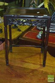 Sale 8305 - Lot 1074 - Chinese Rosewood Side Table