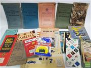 Sale 8900 - Lot 35 - Collection of Travel Ephemera incl. maps