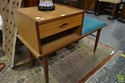 Sale 8507 - Lot 1017 - Retro Telephone Table with Single Drawer