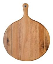 Sale 8975K - Lot 35 - Laguiole by Louis Thiers Acacia Wood Cheese Board with Handle - 46cm