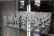 Sale 8112 - Lot 60 - Waterford Cut Crystal Part Drinks Suite